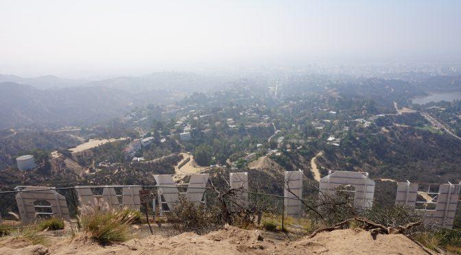 Día 2 – Subida al letrero de Hollywood y Warner Bros Studios