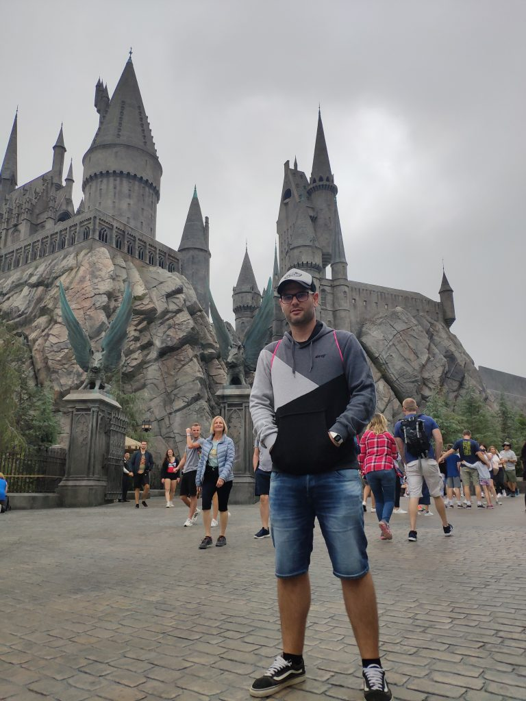 castillo harry potter universal hollywood