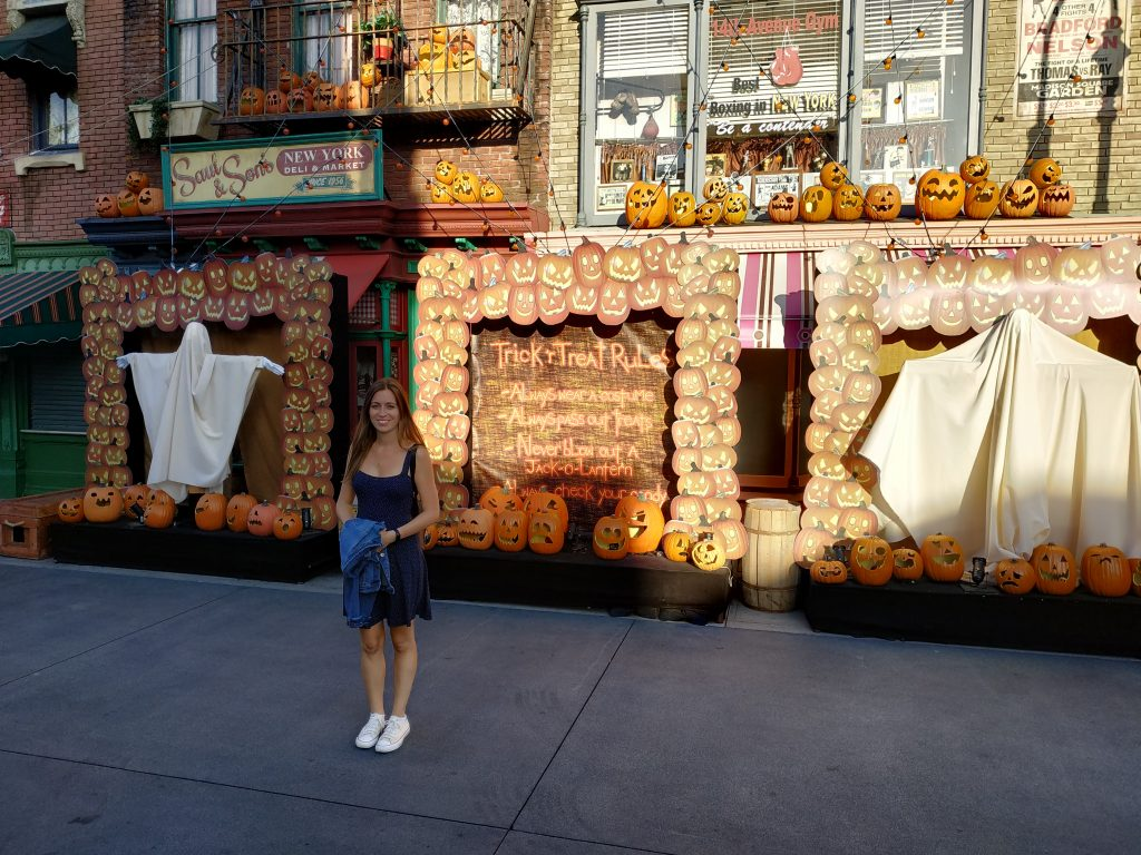 halloween en universal studios hollywood