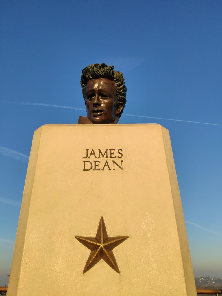 james dean en el observatorio griffith