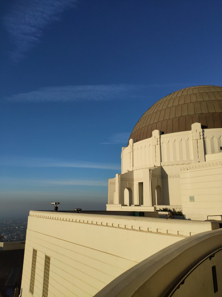 amanecer observatorio griffith