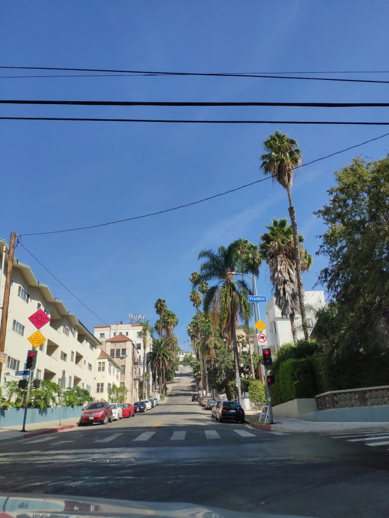 calles de hollywood