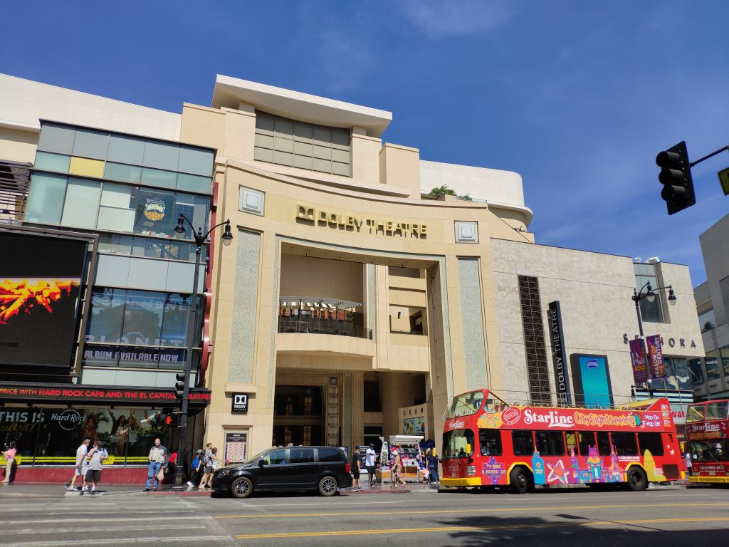 dolby theatre hollywood