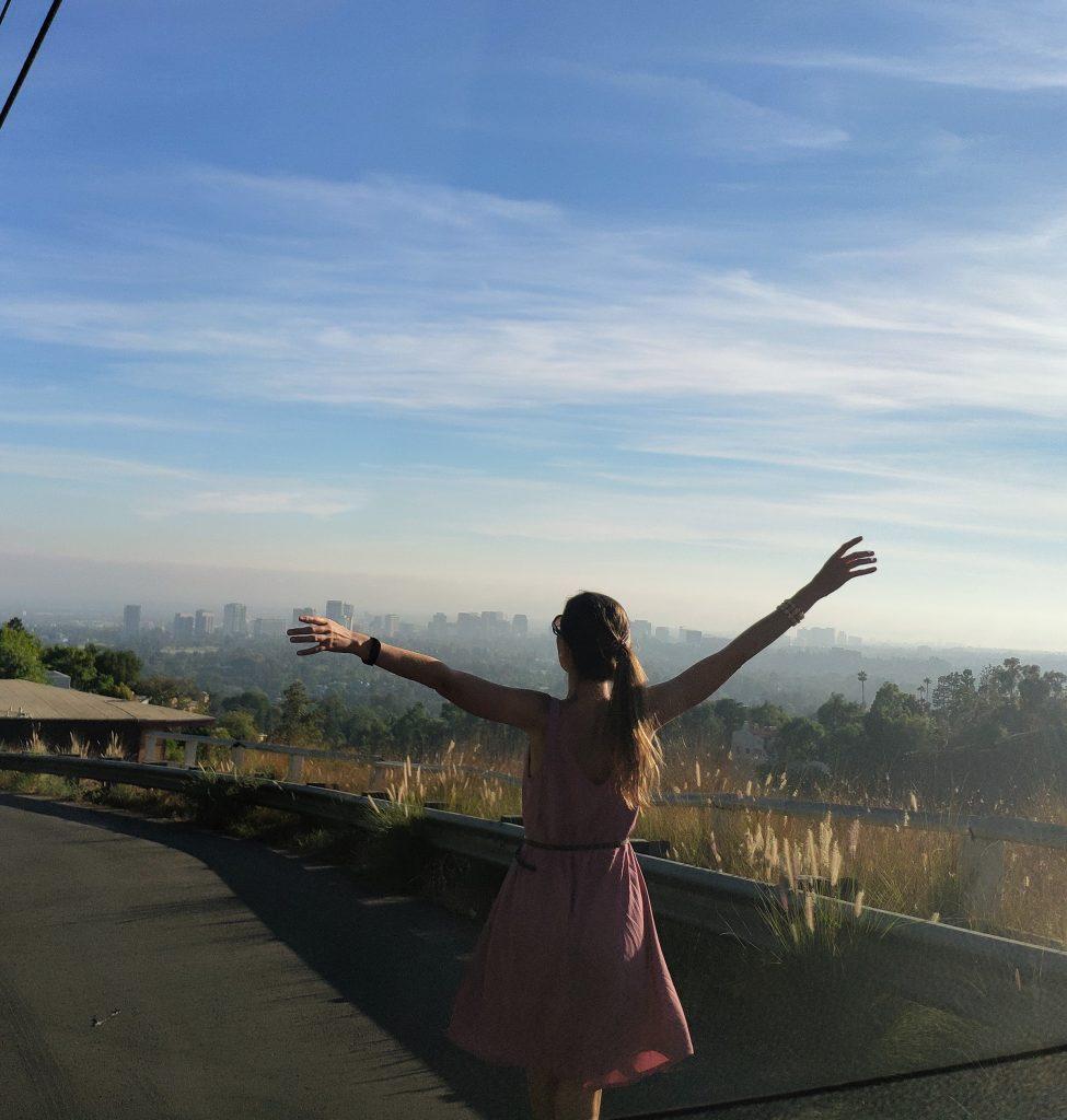 vistas de hollywood desde beverly hills
