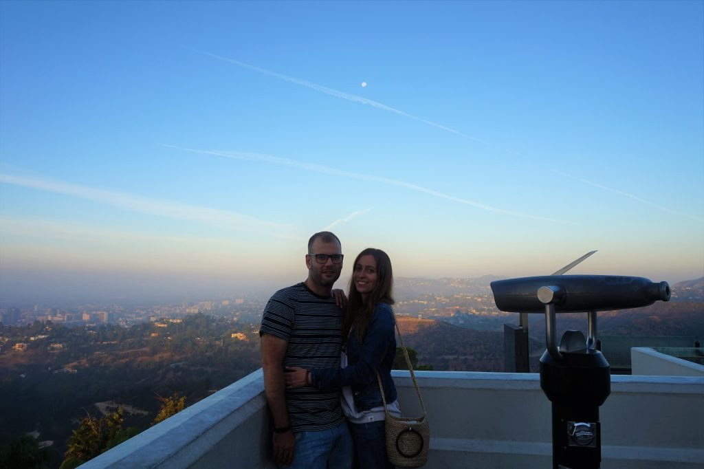 griffith observatory sunrise