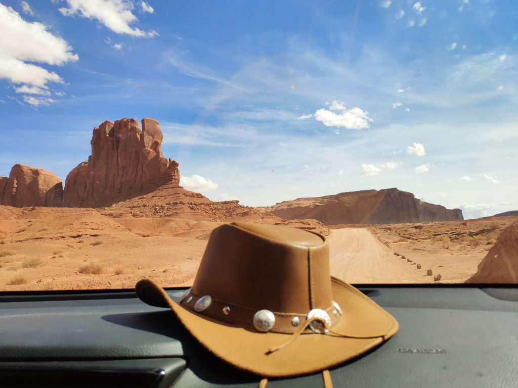 monument valley en coche
