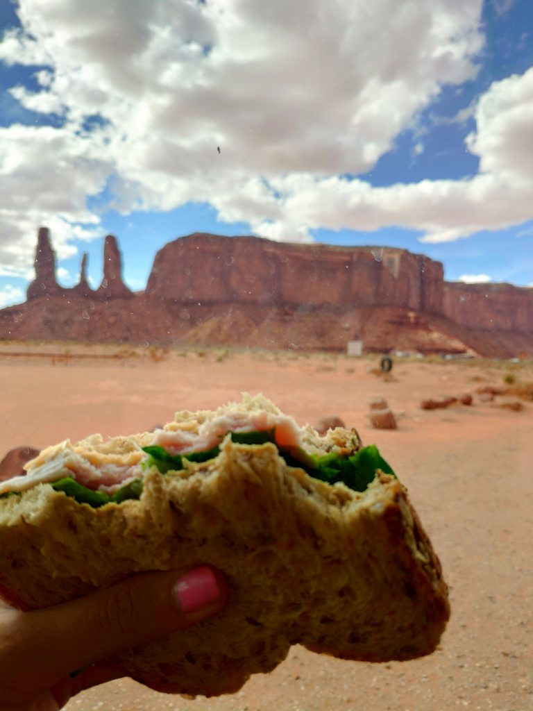 comer en monument valley